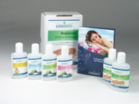 cosiMed Physio Probierset: Massageöl, Massagelotion, Einreibung