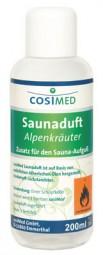 cosiMed Saunaduft Alpenkräuter, Saunaaufguss, 200 ml