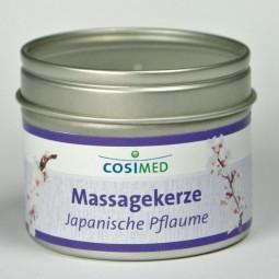Massagekerze Japanische Pflaume 92g, cosiMed