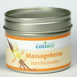 Massagekerze Vanillezauber 92g, cosiMed