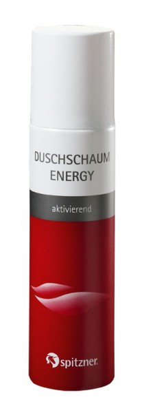 Duschschaum · Energy · Spitzner · 150 ml Flasche