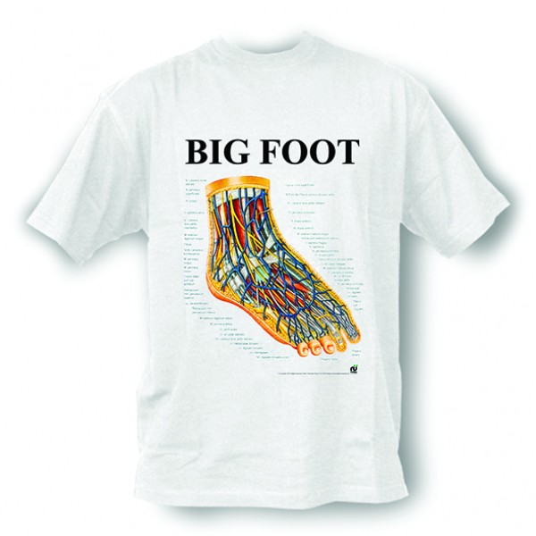 Anatomisches T-Shirt · Big Foot