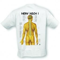 Anatomisches T-Shirt · Nerv nich!