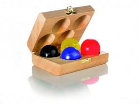 Original Thera-Band · Zubehör · Holzbox für 4 Handtrainer
