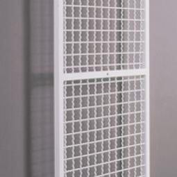 Schlingengitter zur senkrechten Wandmontage