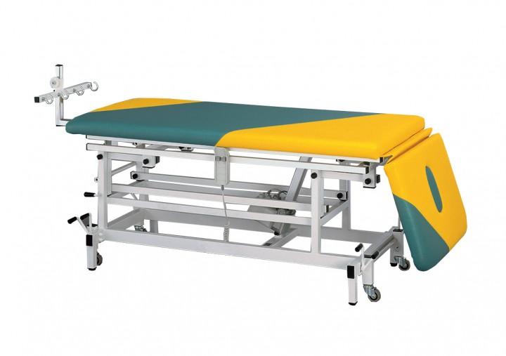 Behandlungsliege / Therapieliege Elektro-Lift, Schrägstellung bis 35 Grad positiv