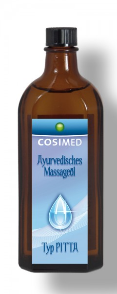 cosiMed Ayurveda Massageöl Typ Pitta 250 ml