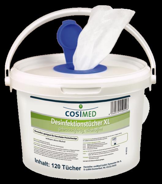 cosiMed Desinfektionstücher Eimer XL Format 280 x 280 mm