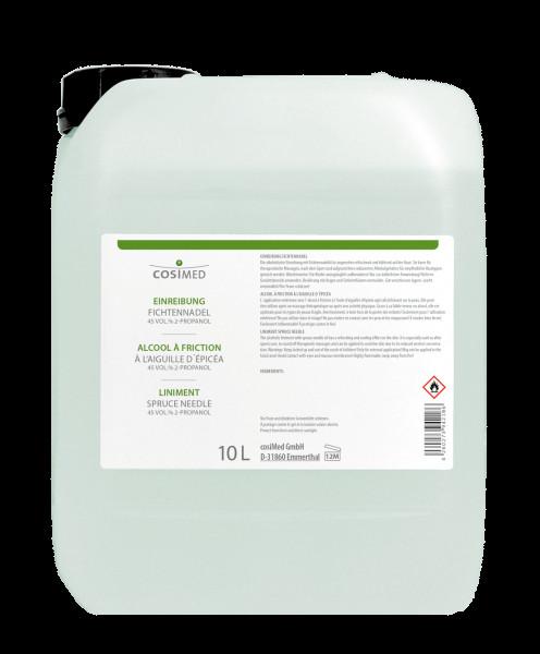 cosiMed Einreibung Fichtennadel (45 Vol.%) 10 Liter