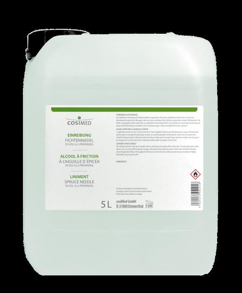 cosiMed Einreibung Fichtennadel (70% Vol.) 5 Liter