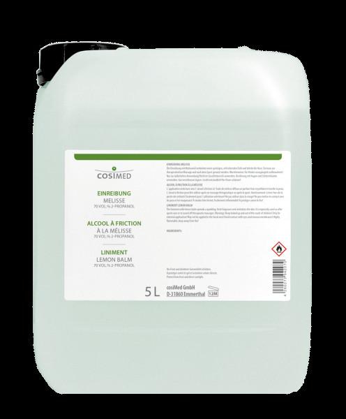 cosiMed Einreibung Melisse (70%Vol.) 5 Liter