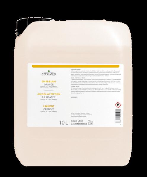 cosiMed Einreibung Orange (70% Vol) 10 Liter