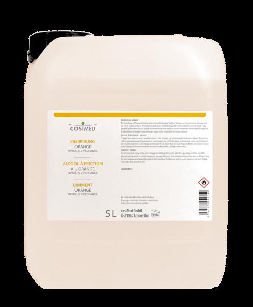 cosiMed Einreibung Orange (70% Vol.) 5 Liter