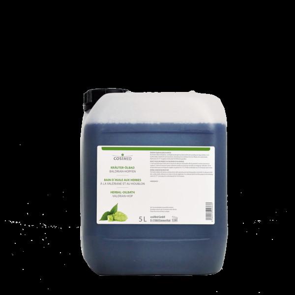 cosiMed Kräuter-Ölbad Baldrian Hopfen 5 Liter Badezusatz Konzentrat
