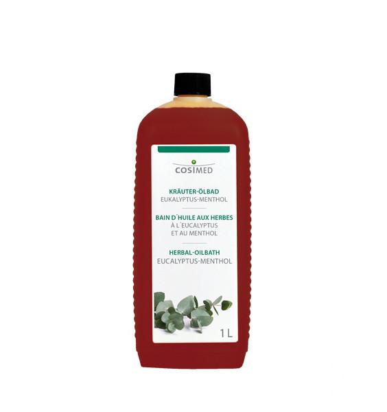 cosiMed Kräuter-Ölbad Eucalyptus Menthol 1 Liter Badezusatz