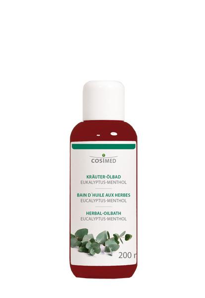 cosiMed Kräuter-Ölbad Eucalyptus-Menthol, Badezusatz
