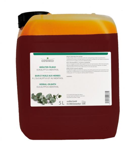 cosiMed Kräuter-Ölbad Eucalyptus Menthol 5 Liter Badezusatz Konzentrat