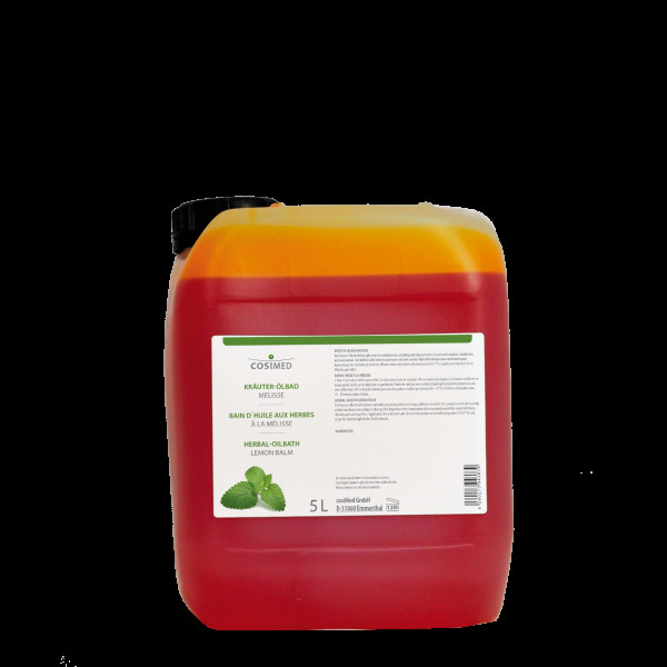 cosiMed Kräuter-Ölbad Melisse 5 Liter Badezusatz Konzentrat