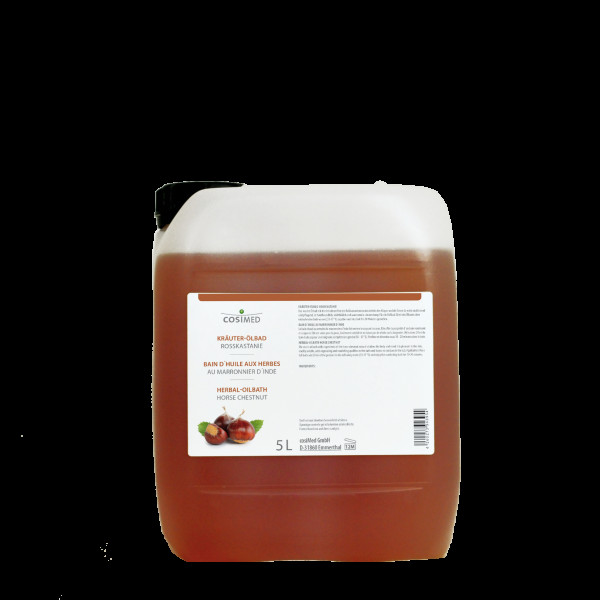 cosiMed Kräuter-Ölbad Roßkastanie 5 Liter Badezusatz Konzentrat