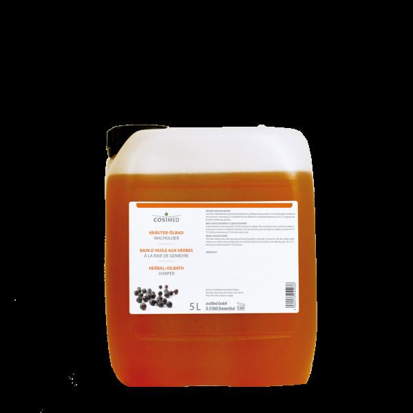 cosiMed Kräuter-Ölbad Wacholder 5 Liter Badezusatz Konzentrat
