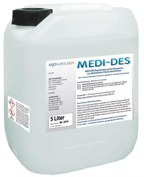 Medi-Des Flächen-Desinfektionsmittel Konzentrat 5 Liter Kanister