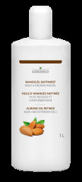 cosiMed Mandelöl raffiniert | Basisöl, Massageöl 1 Liter