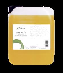 cosiMed Mandelöl raffiniert, 5 Liter Kanister | Basisöl, Massageöl