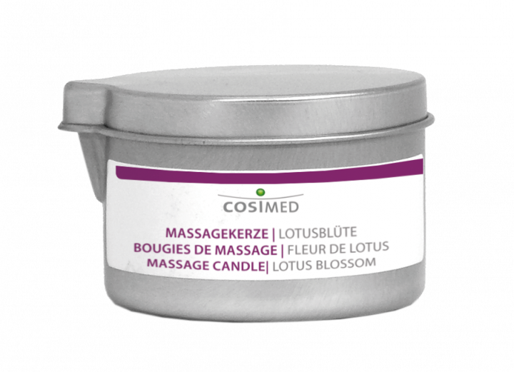 cosiMed Massagekerze Lotusblüte
