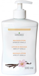 cosiMed Massagelotion Aprikose Vanille 500 ml