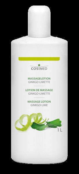 cosiMed Massagelotion Ginkgo Limette 1 Liter