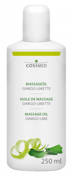 cosiMed Massageöl Ginkgo-Limette