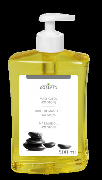 cosiMed Hot Stone Massageöl 500ml Dosierflasche