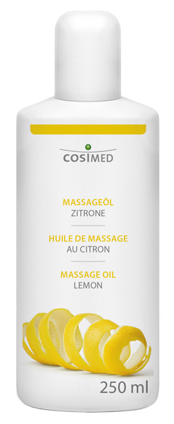 cosiMed Massageöl Zitrone, 250ml