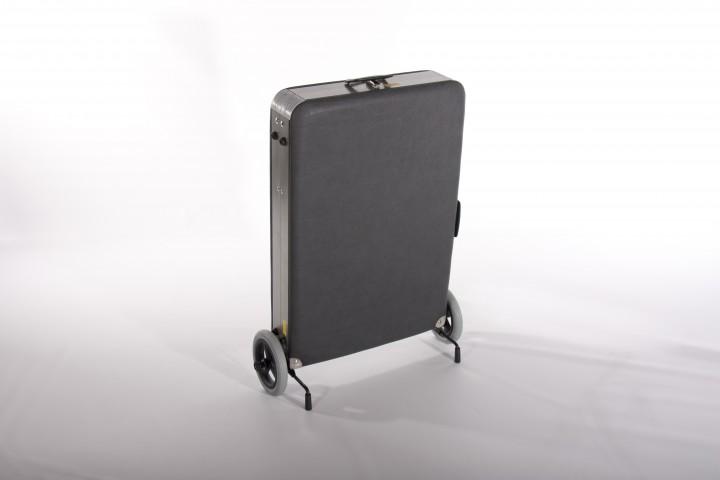 Clewa - Kompakte Kofferliege / Massagebank / Therapiebank, Breite 55 cm
