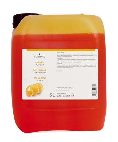 cosiMed Orangen Schaumbad Badezusatz Duftbad 5 Liter
