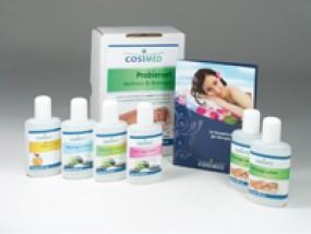 cosiMed Physio Probierset: Massageöl, Massagelotion, Einreibung