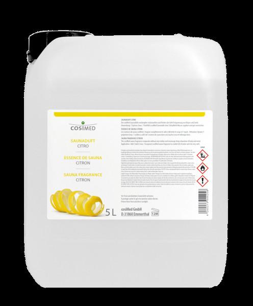 Saunaaufguss cosiMed Saunaduft Citro 5 Liter Kanister