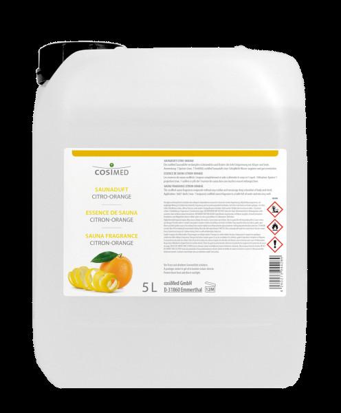 Saunaaufguss cosiMed Saunaduft Citro-Orange 5 Liter Kanister
