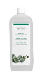 cosiMed Saunaduft Eukalyptus-Menthol, Saunaaufguss, 1 Liter
