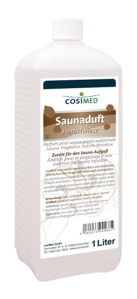 cosiMed Saunaduft Herbstwiese, Saunaaufguss, 1 Liter