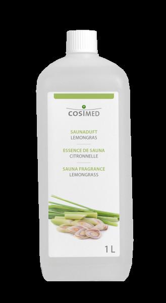cosiMed Saunaduft Lemongras, Saunaaufguss, 1 Liter