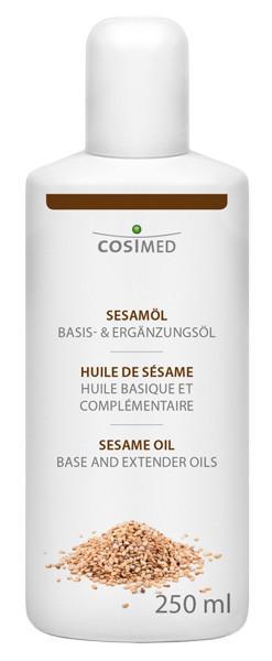cosiMed Sesamöl 1. Kaltpressung 250ml | Massageöl & Basisöl