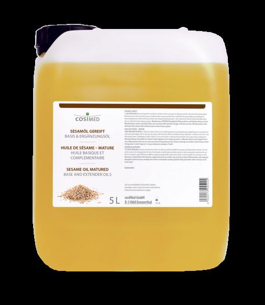 cosiMed Sesamöl 1. Kaltpressung (kbA) - gereift 5 Liter