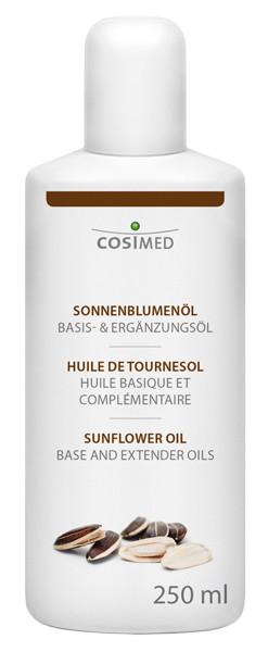 cosiMed Sonnenblumenöl 1. Kaltpressung (kbA) 250 ml