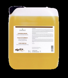 cosiMed Sonnenblumenöl 1. Kaltpressung (kbA) 5 Liter