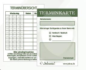Terminkarte A7
