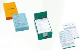 Terminzettel und -Karten