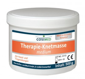 Therapieknete cosiMed medium (mittel) 500g