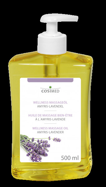 cosiMed Wellness-Massageöl Amyris Lavendel 500ml