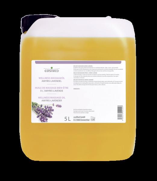 cosiMed Wellness-Massageöl Amyris Lavendel 5 L